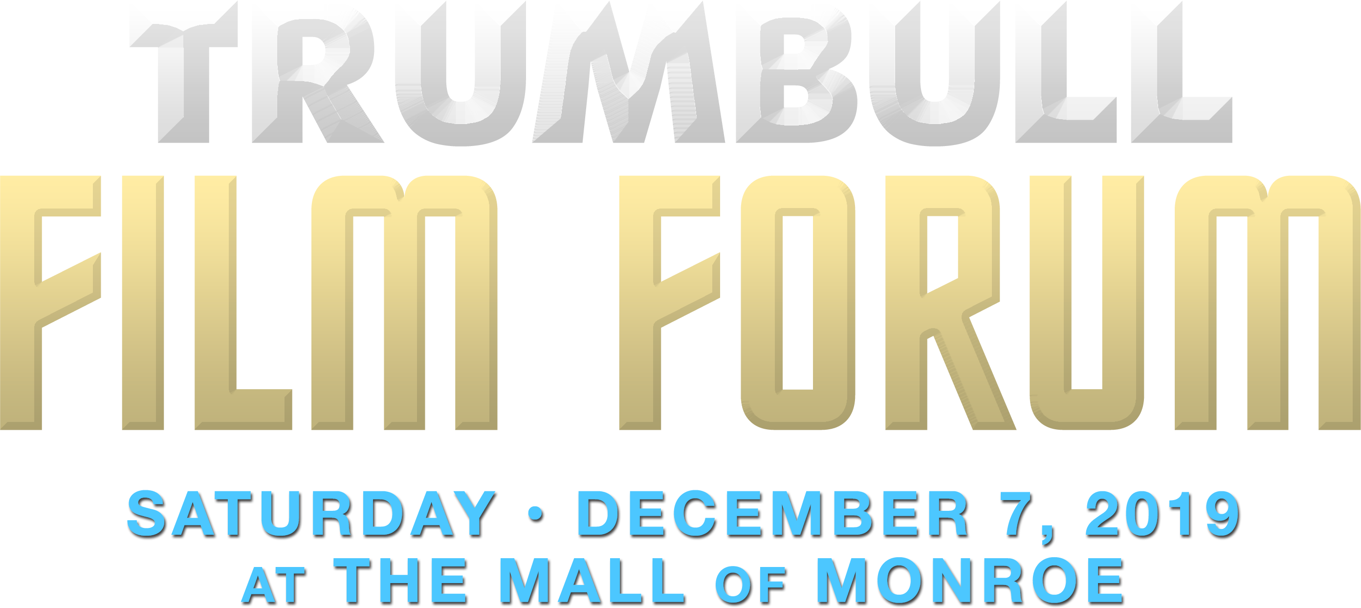 The Trumbull Film Forum Saturday, December 7, 2019 at Phoenix Theatres The Mall of Monroe